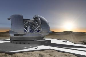 Extremely Large Telescope (E-ELT),Deze krijgt een spiegel van 39 meter en moet klaar zijn in 2024